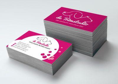 Ontwerp logo en visitekaartje trimsalon