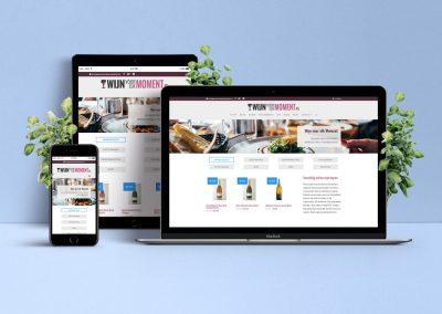 Realisatie webshop kwaliteitswijnen