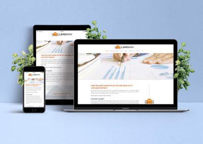Huisstijl en webdesign LeadSpin