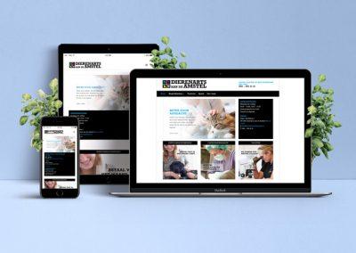 Restyling website Dierenarts aan de Amstel