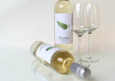 Productfotografie wijn met glazen