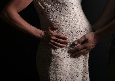 Fotoshoot samen zwanger