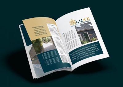 Ontwerp brochure, 24 pagina's, A4 formaat