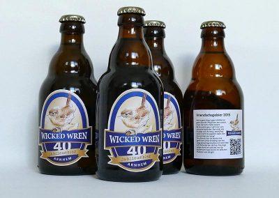 Ontwerp etiket bier