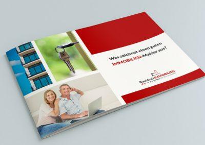 Informatiebrochure Duitse makelaar, A4 formaat liggend